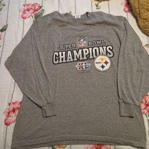 Steelers super bowl XL shirt